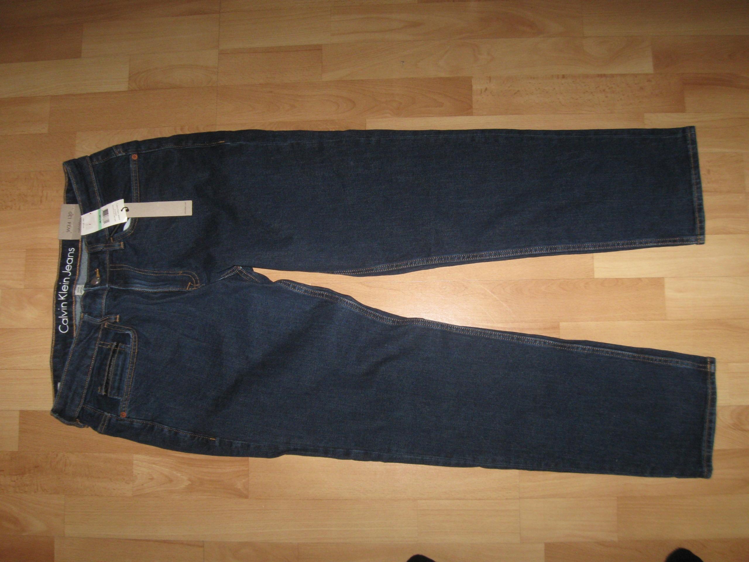 Jeansy Calvin Klein Jeans 34x30 SKINNY
