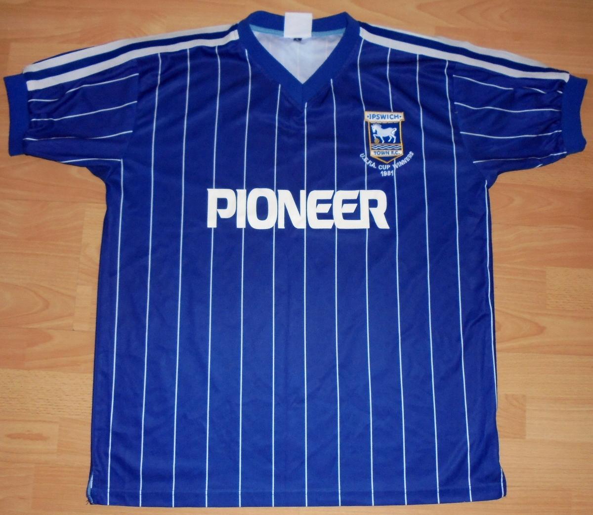 Koszulka Ipswich Town L Retro oldschool piooner