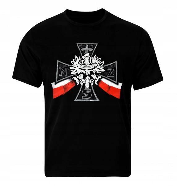 Koszulka patriotyczna Krzyż NSZ XXL