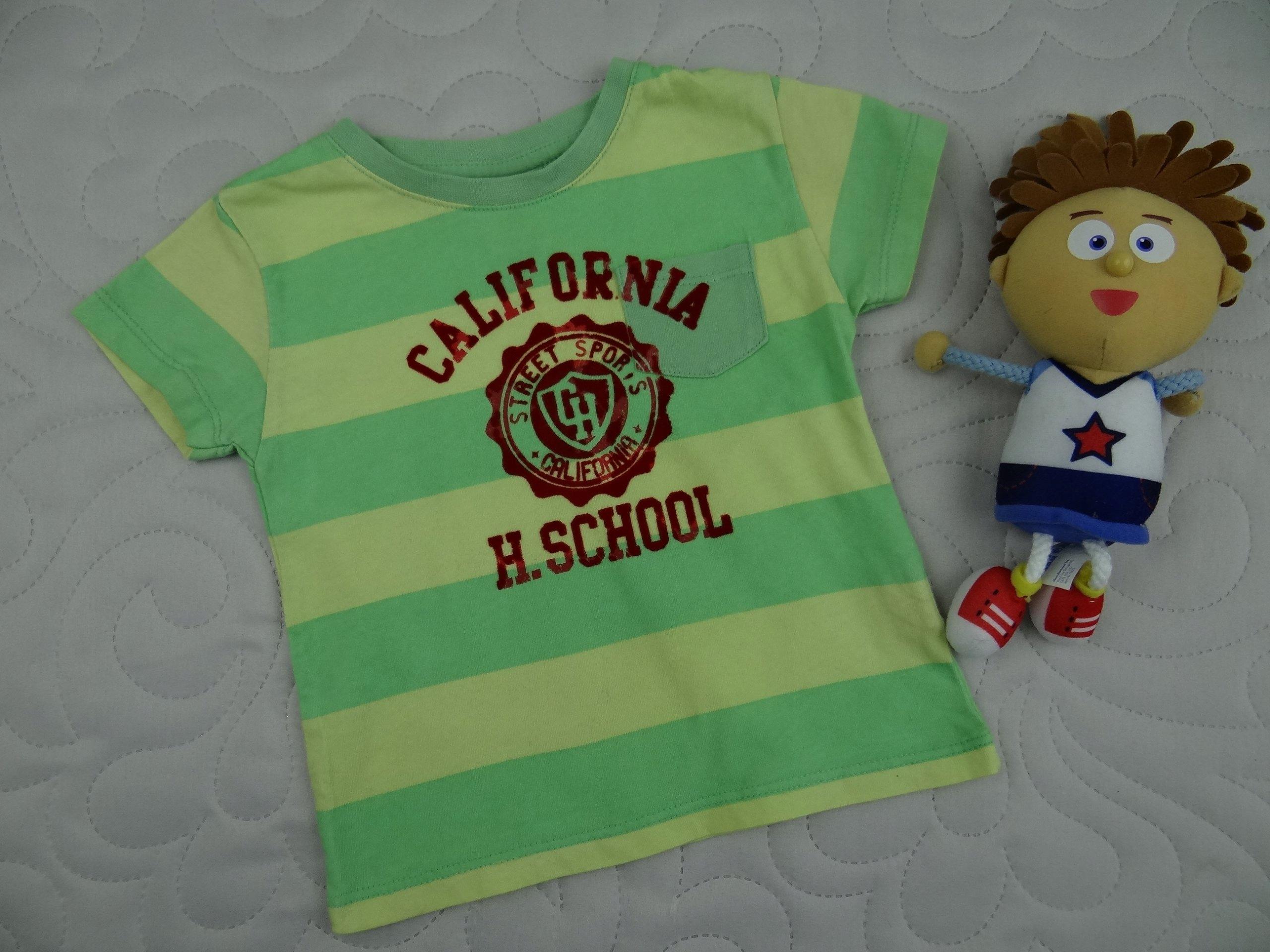 ZARA baby bawełniana koszulka t-shirt 6/9M 74cm 2N