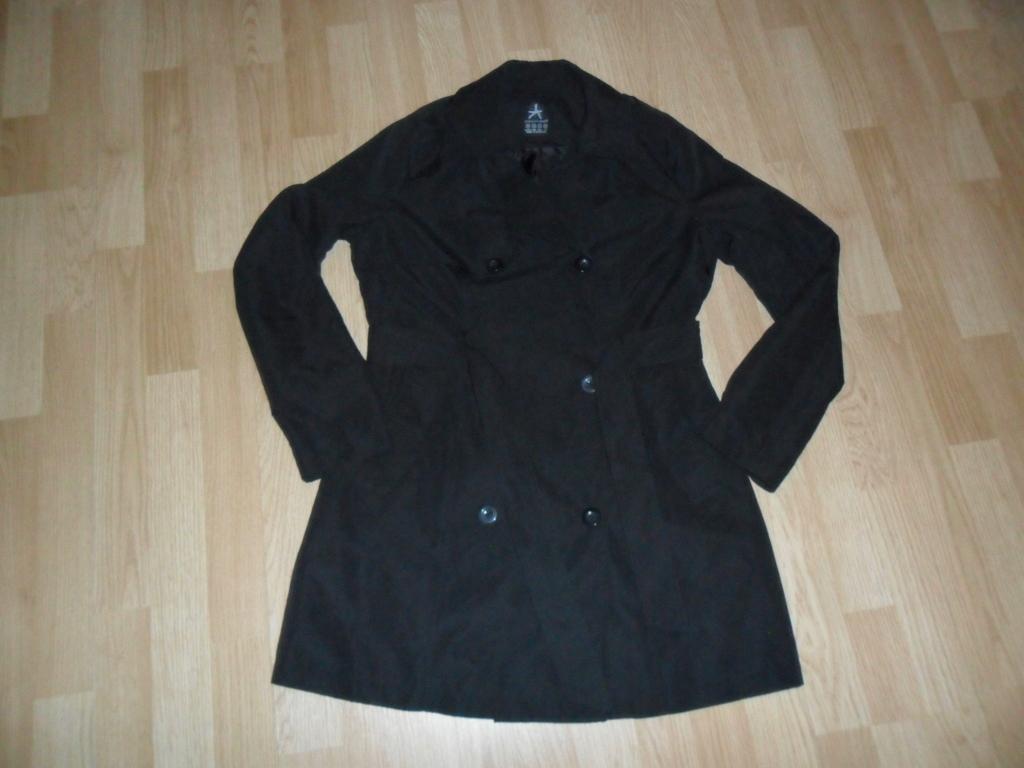 Płaszcz damski jesienny czarny 38 M Atmosphere