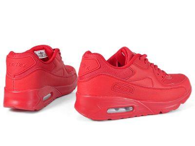 Czerwone Buty Damskie Sportowe rozmiar 37