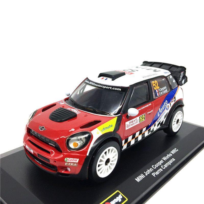 BBURAGO MINI JOHN COOPER WORKS WRC CAMPANA 1:32