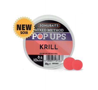 Sonubaits Mixed Method Pop Ups Krill 8/10 MM
