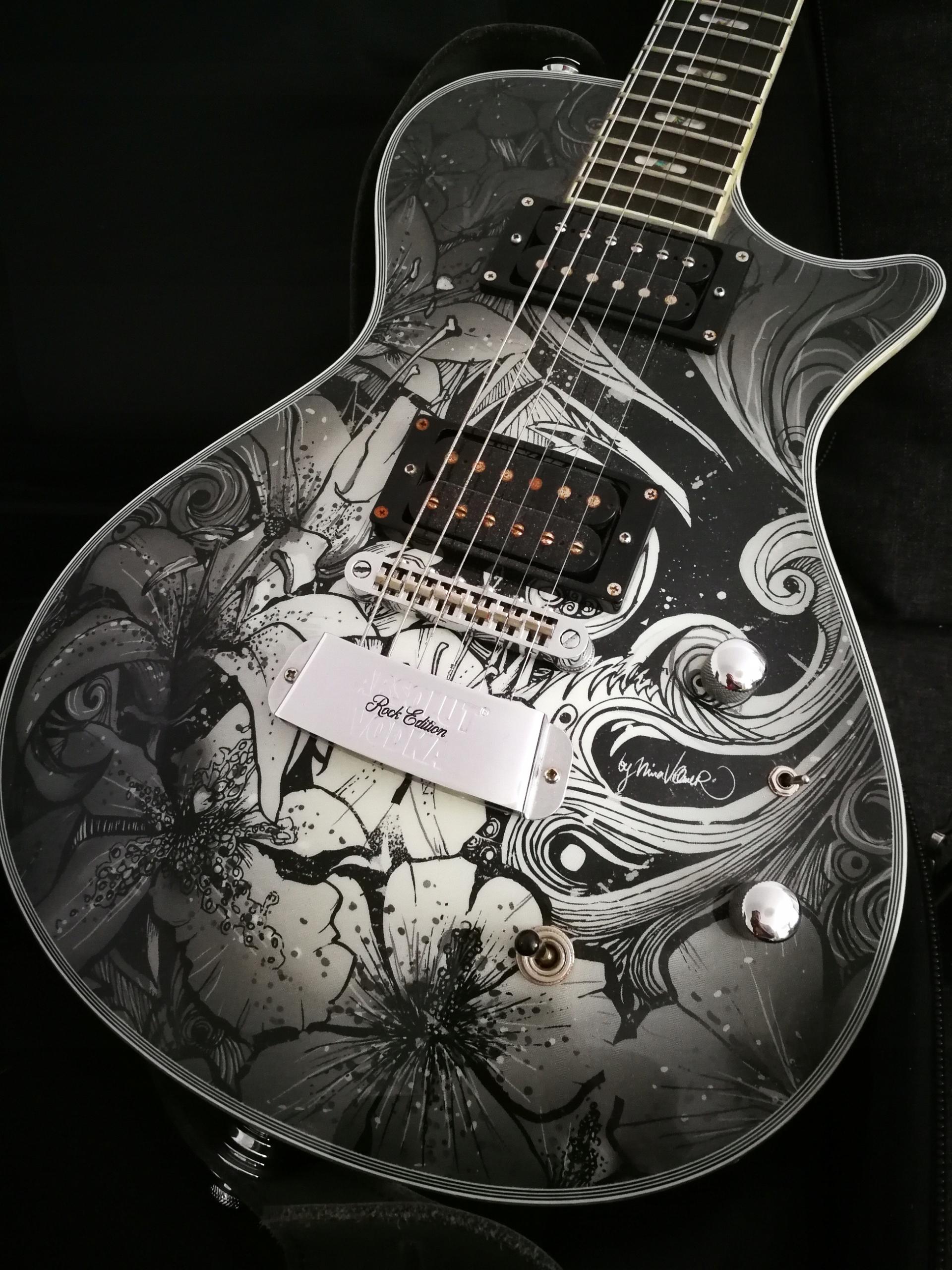 Gitara elektryczna Hagstrom Absolut Vodka
