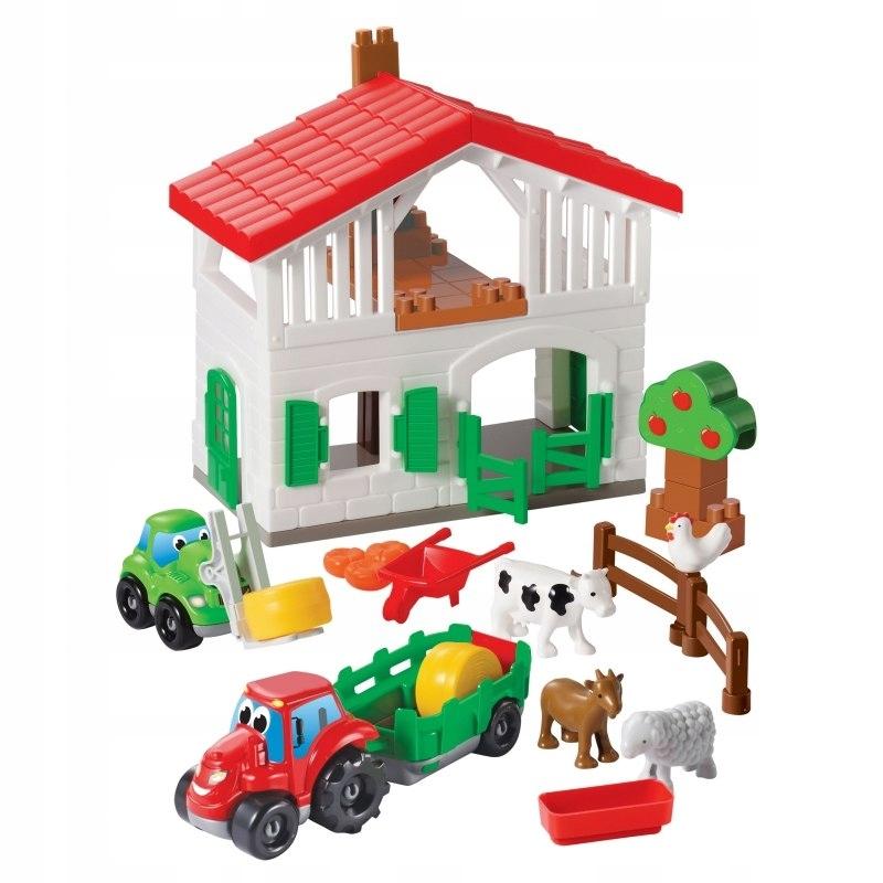 Farma Z Autami Figurki Zwierząt Ecoiffier