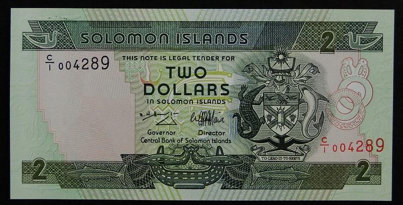 1997 Wyspy Salomona - 2 dolary