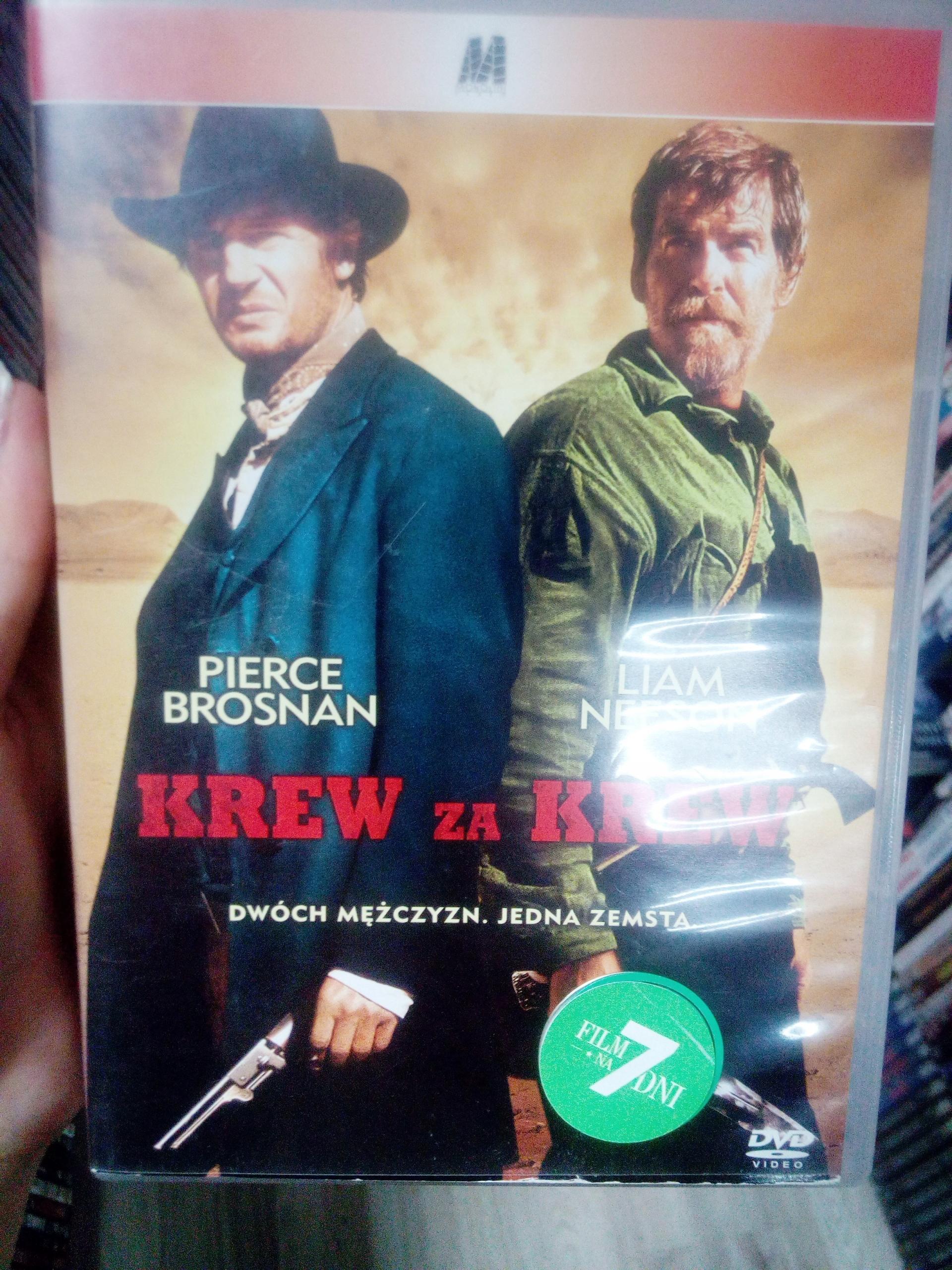 KREW ZA KREW DVD SKLEP VIDEOTEKA TYCHY
