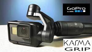 Gopro Karma Grip stabilizator gimbal, gopro 5 6 7