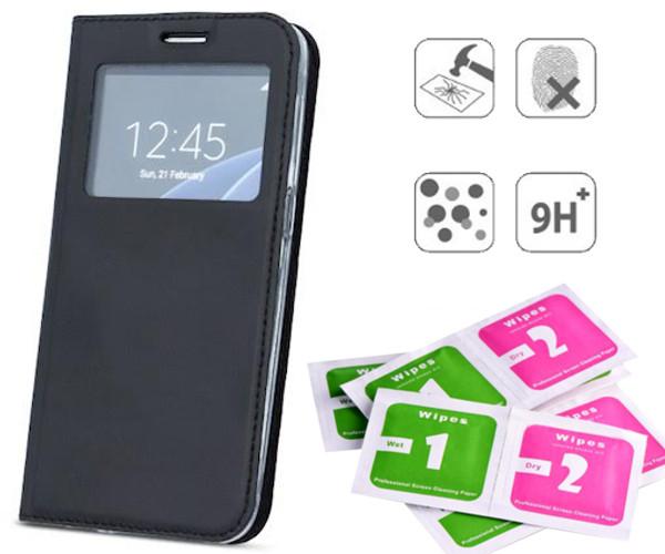 ETUI SMART LOOK TELEFON Huawei Mate 10 Lite +SZKŁO