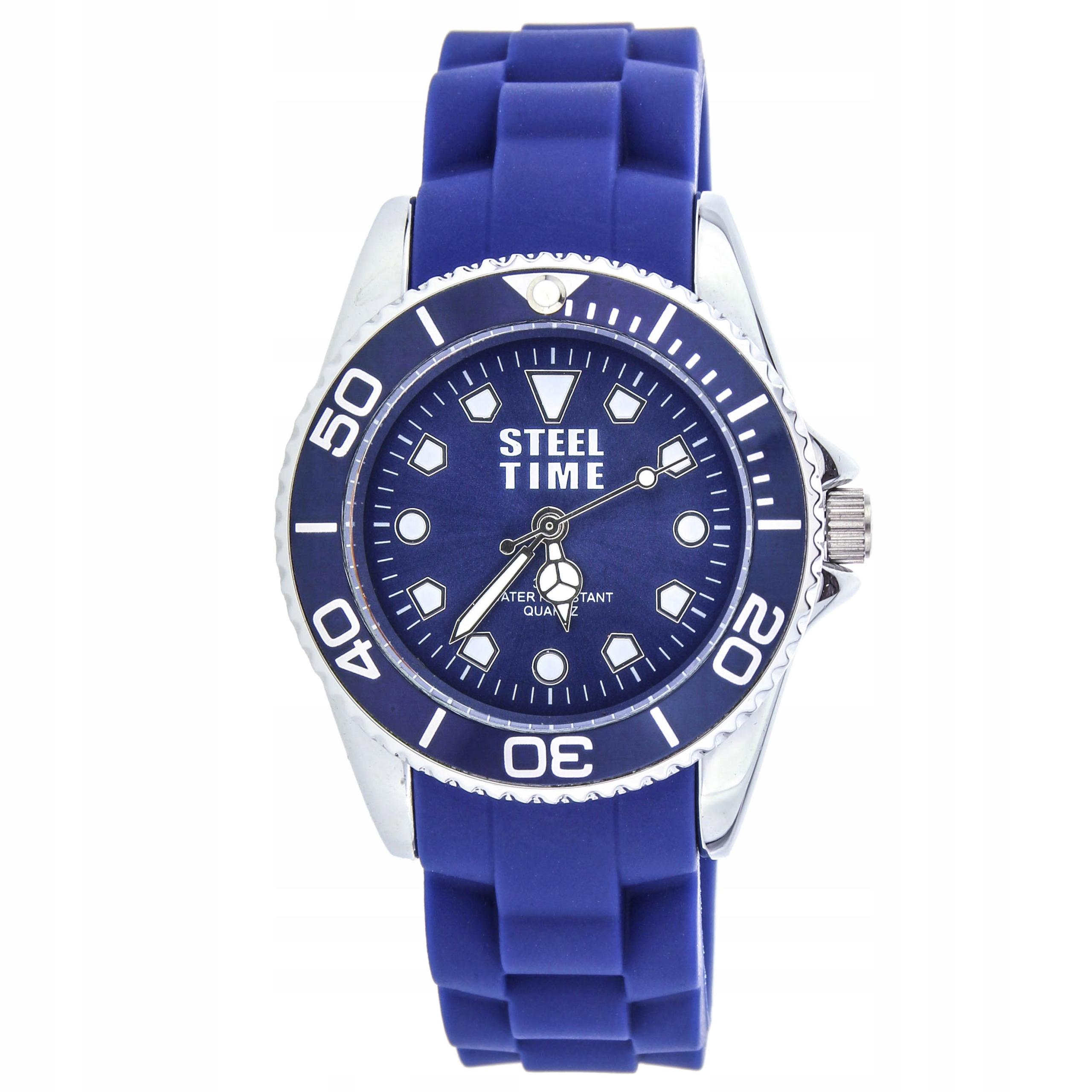 Zegarek STEEL TIME STF004 nowy