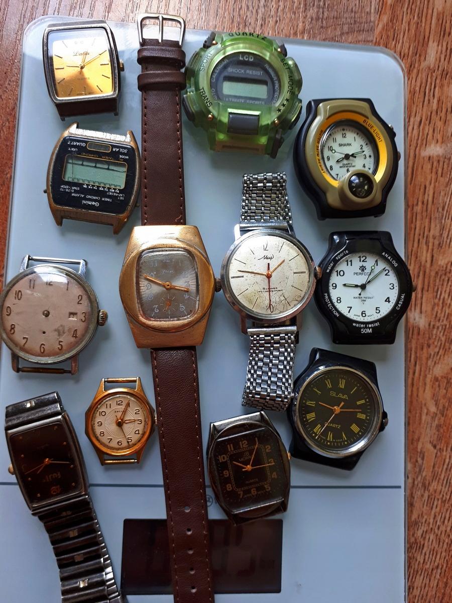 Stare zegarki radzieckie okazja Zestaw