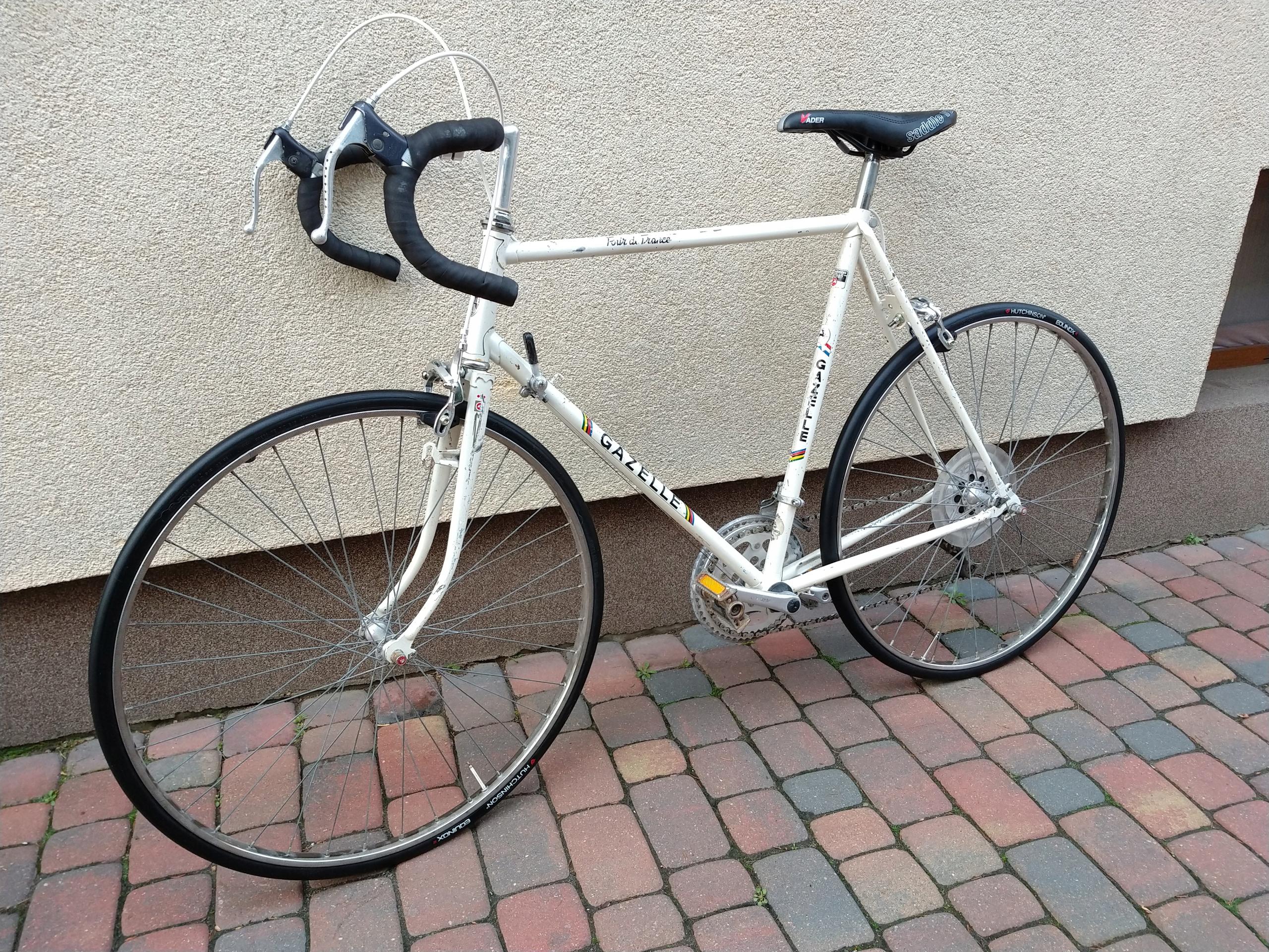 Gazelle Tour De France 58,5cm dużo nowych części