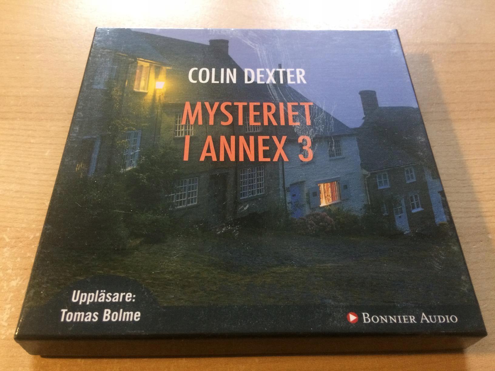 COLIN DEXTER MYSTERIET I ANNEX 3 7CD