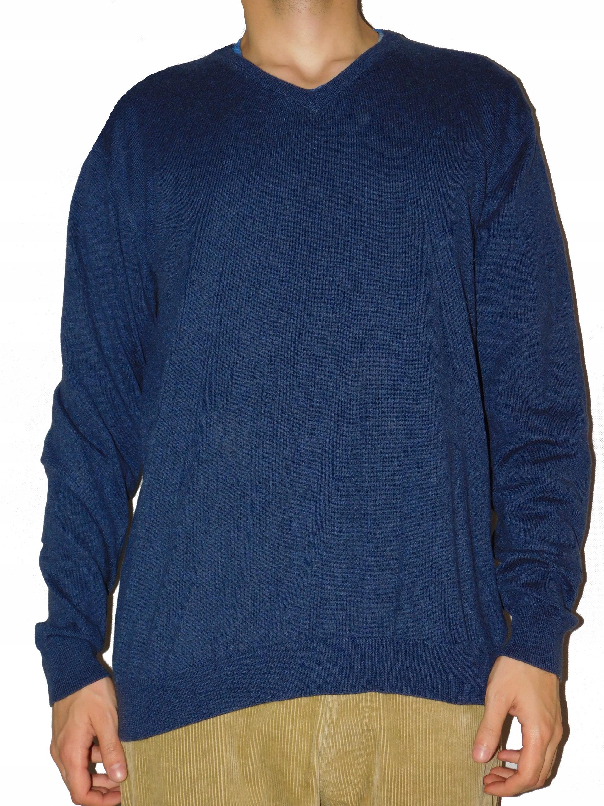 Wrangler sweter męski rozmiar XL granatowy