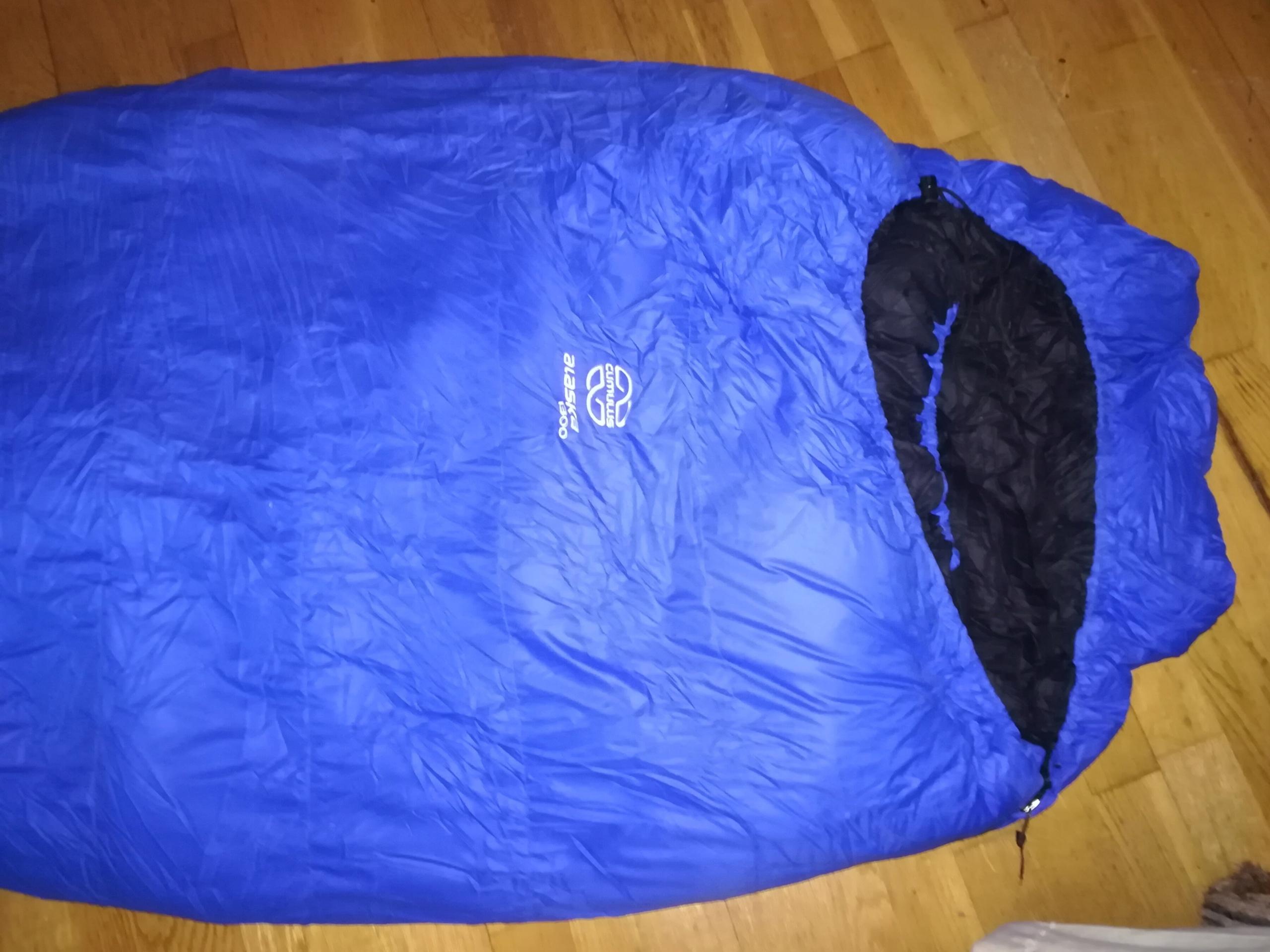 Śpiwór puchowy Cumulus Alaska 1300