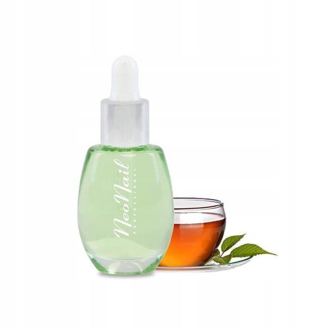 NeoNail Cuticle Oil oliwka do skórek z pipetą Tea