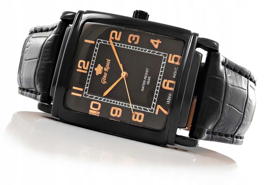 Zegarek Gino Rossi kwarcowy OKAZJA Wodoszczelny