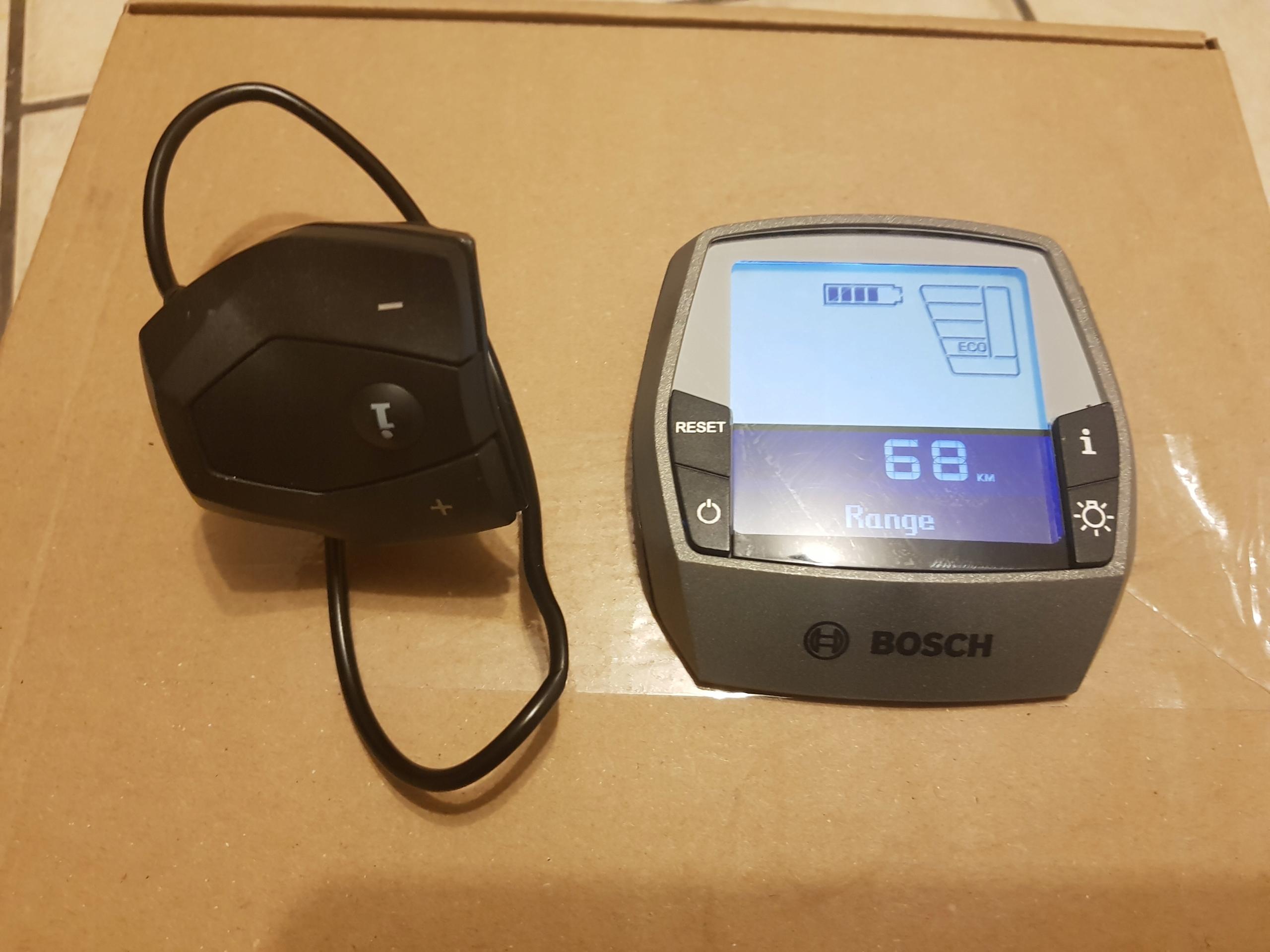 Wyświetlacz Bosch Intuvia plus manipulator
