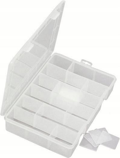 Pudełko organizer VISO 280x200x50 mm 18 komór FV23