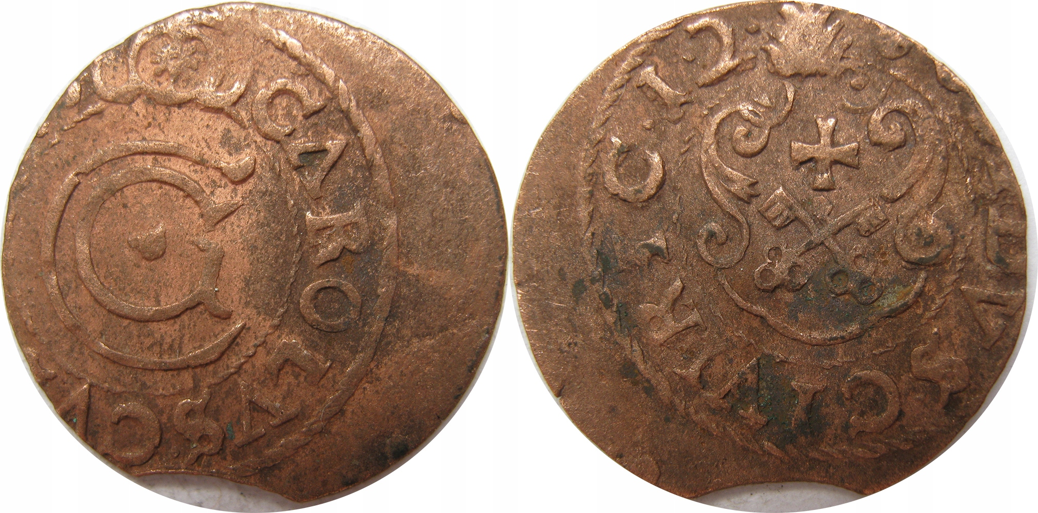 Szelag Karola Gustawa, fals z epoki data 12