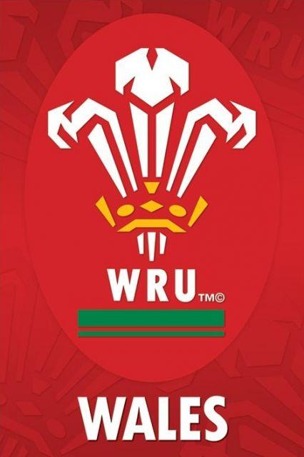 Wales R.U (Crest) - plakat