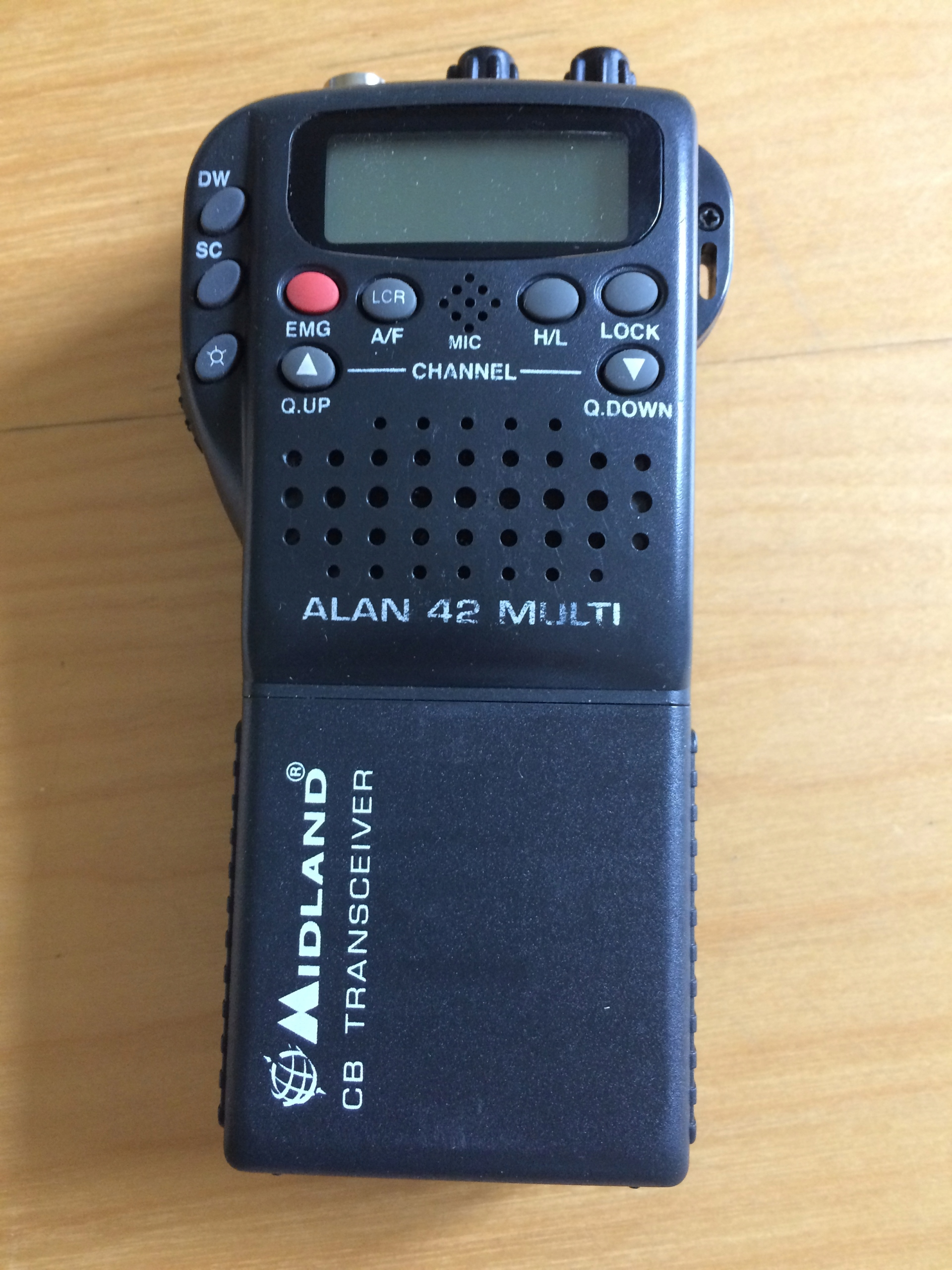 CB-RADIO ALAN 42 MULTI - MIDLAND + ANTENA