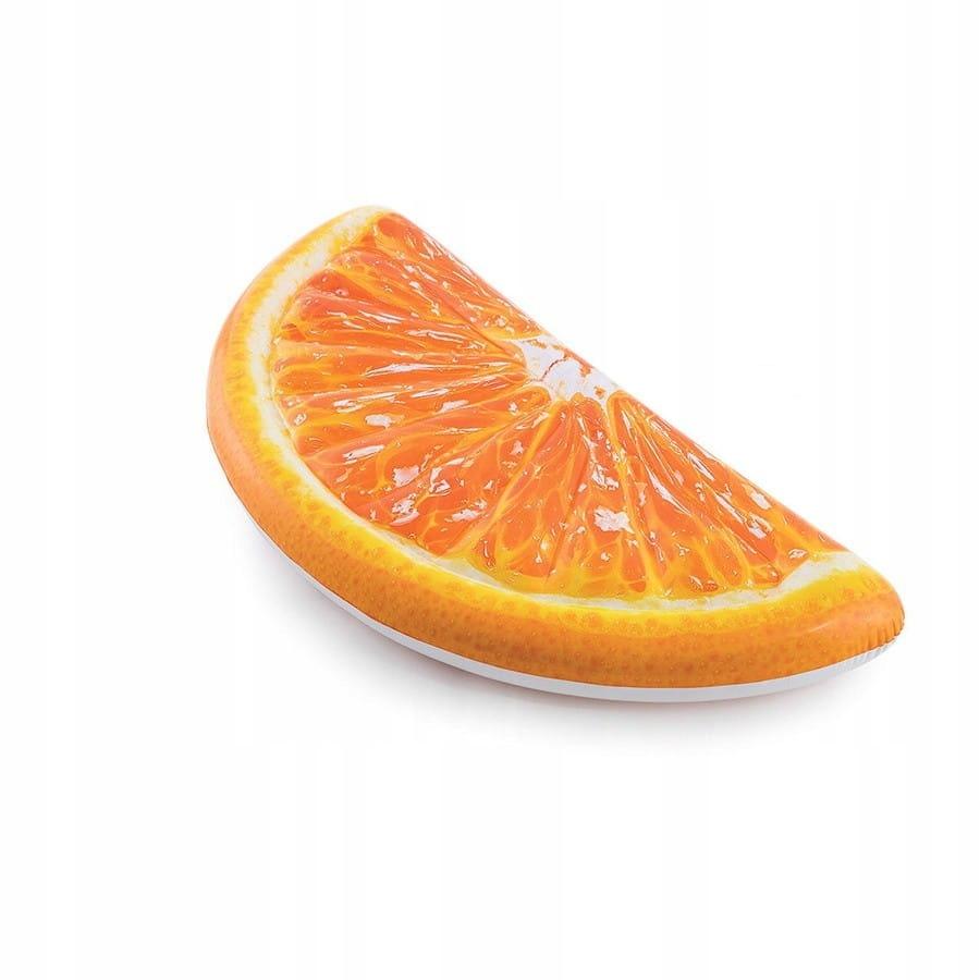 Zabawka materac pomarańcza 178x85 cm