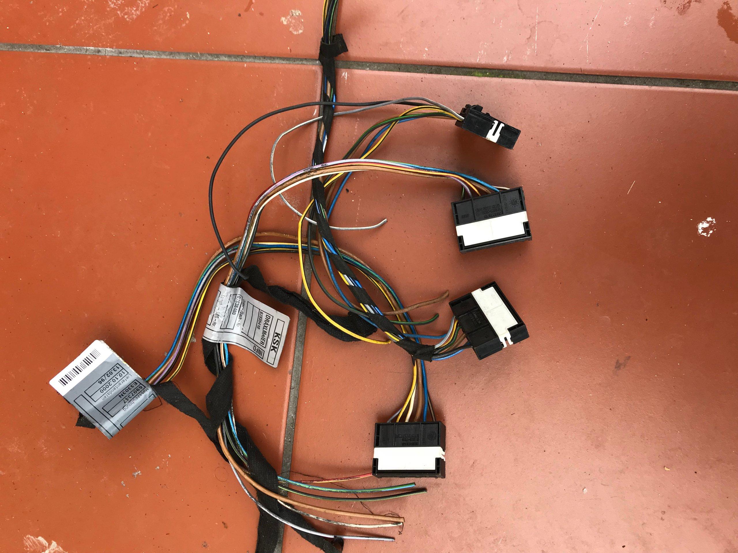 kostki tylnych lamp bmw e39 e46 e60