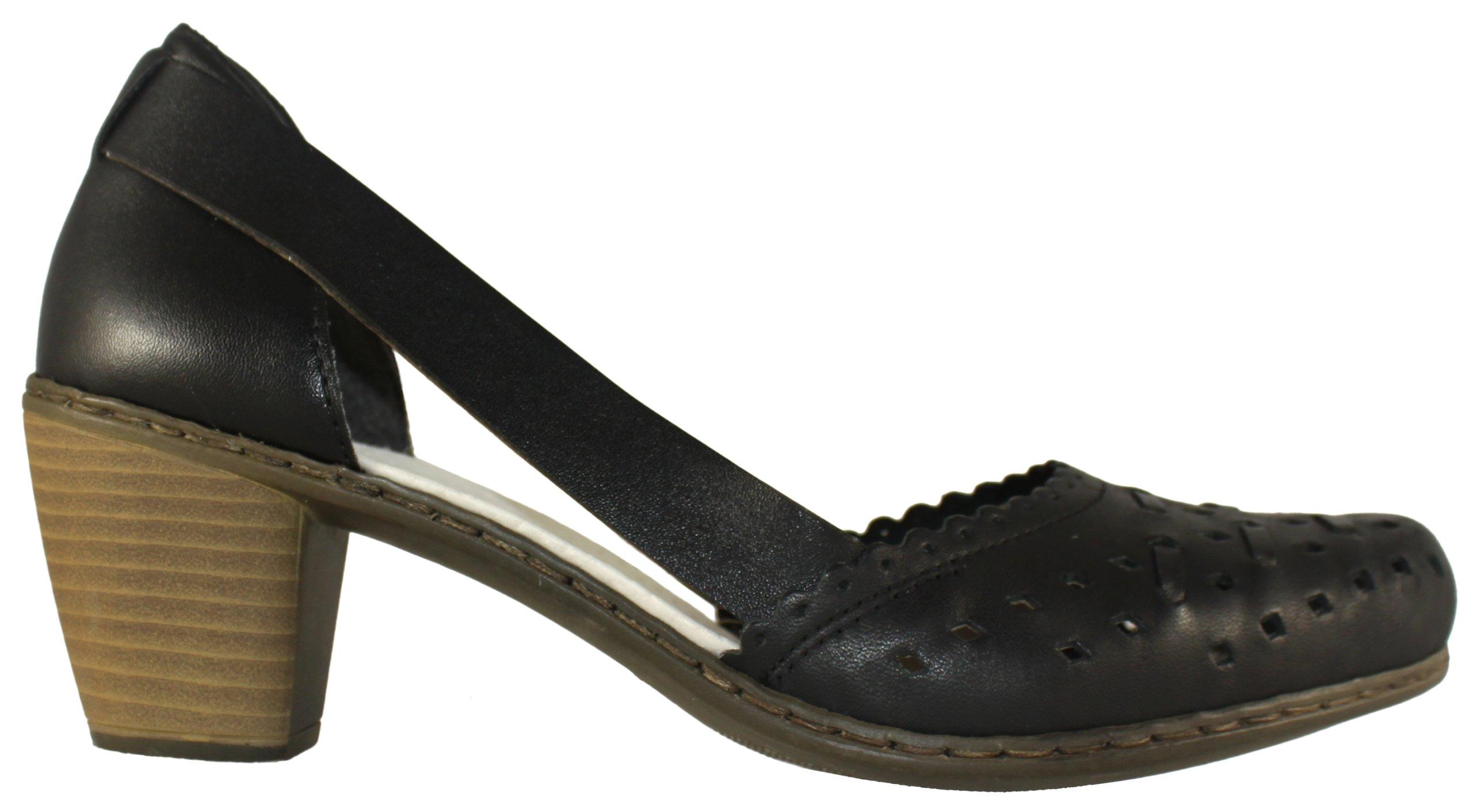 RIEKER 40985-00 czółenka sandały 38 PIEKNEBUTY
