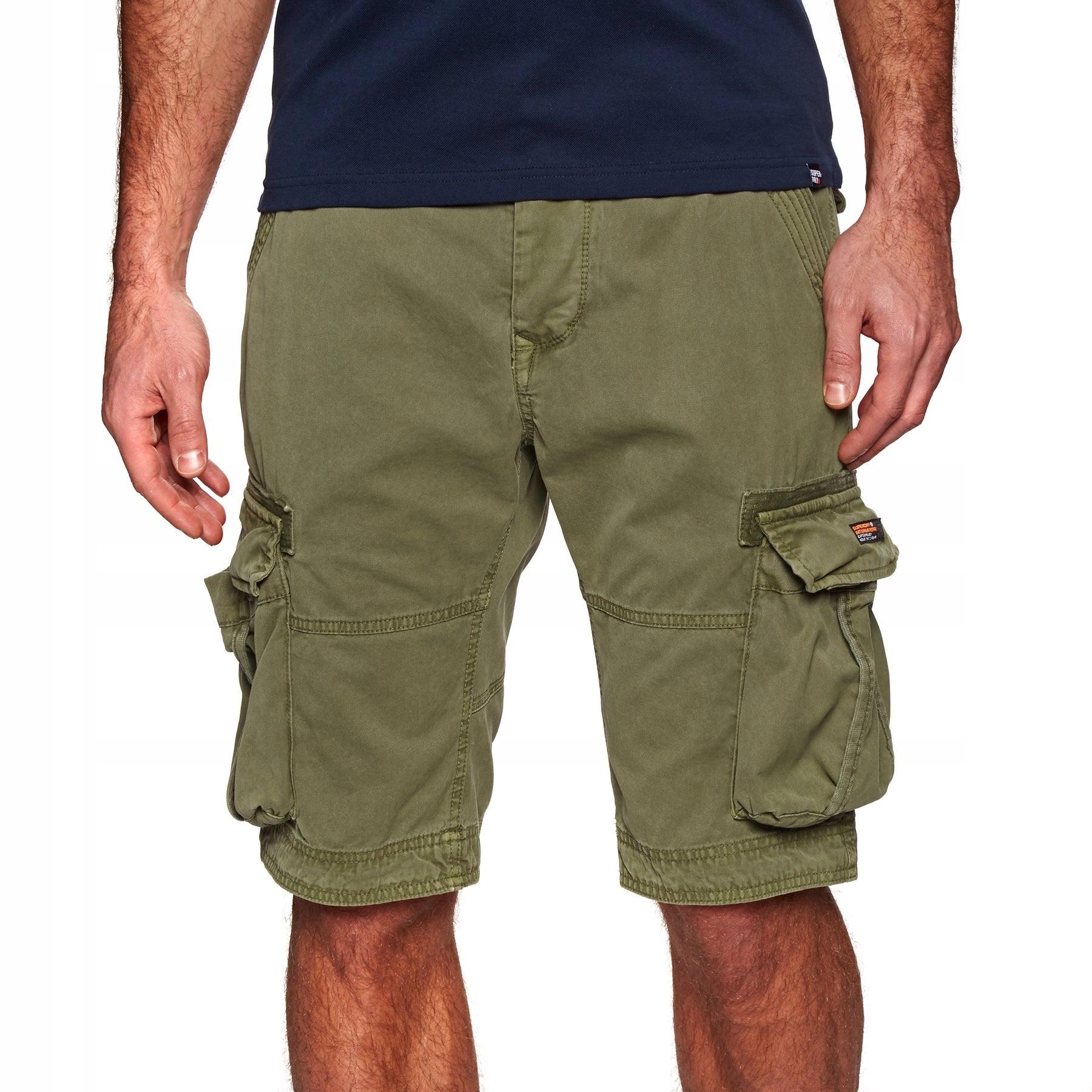 Spodenki SUPERDRY cargo XL casual short khaki