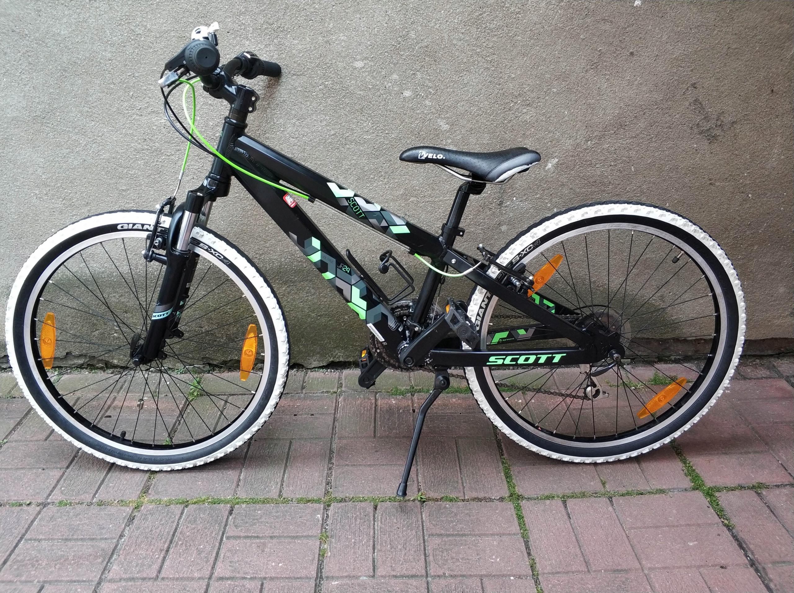 """rower SCOTT koła 24"""""""