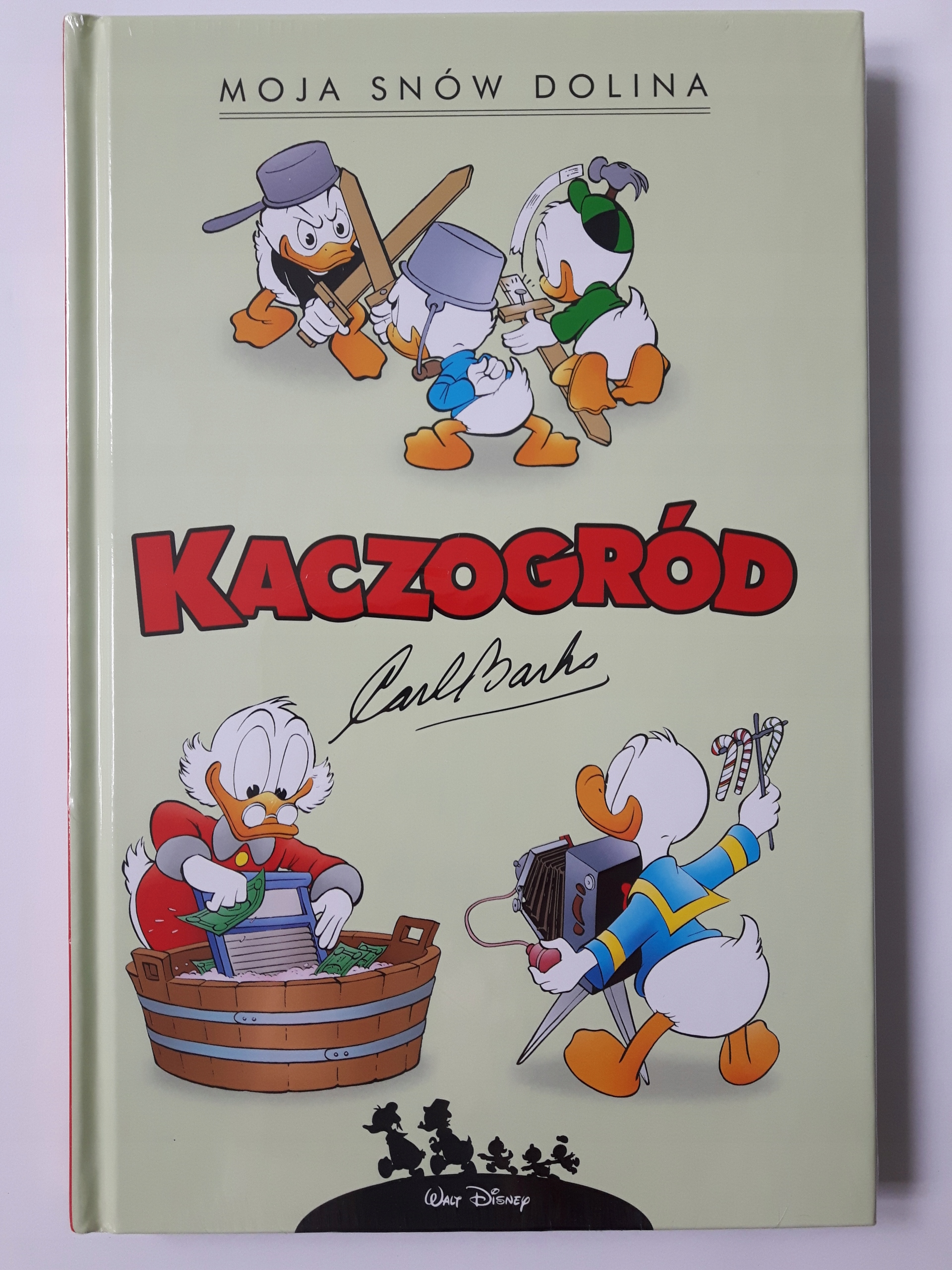 Kaczogród, tom2 Moja snów dolina, Carl Barks, nowa