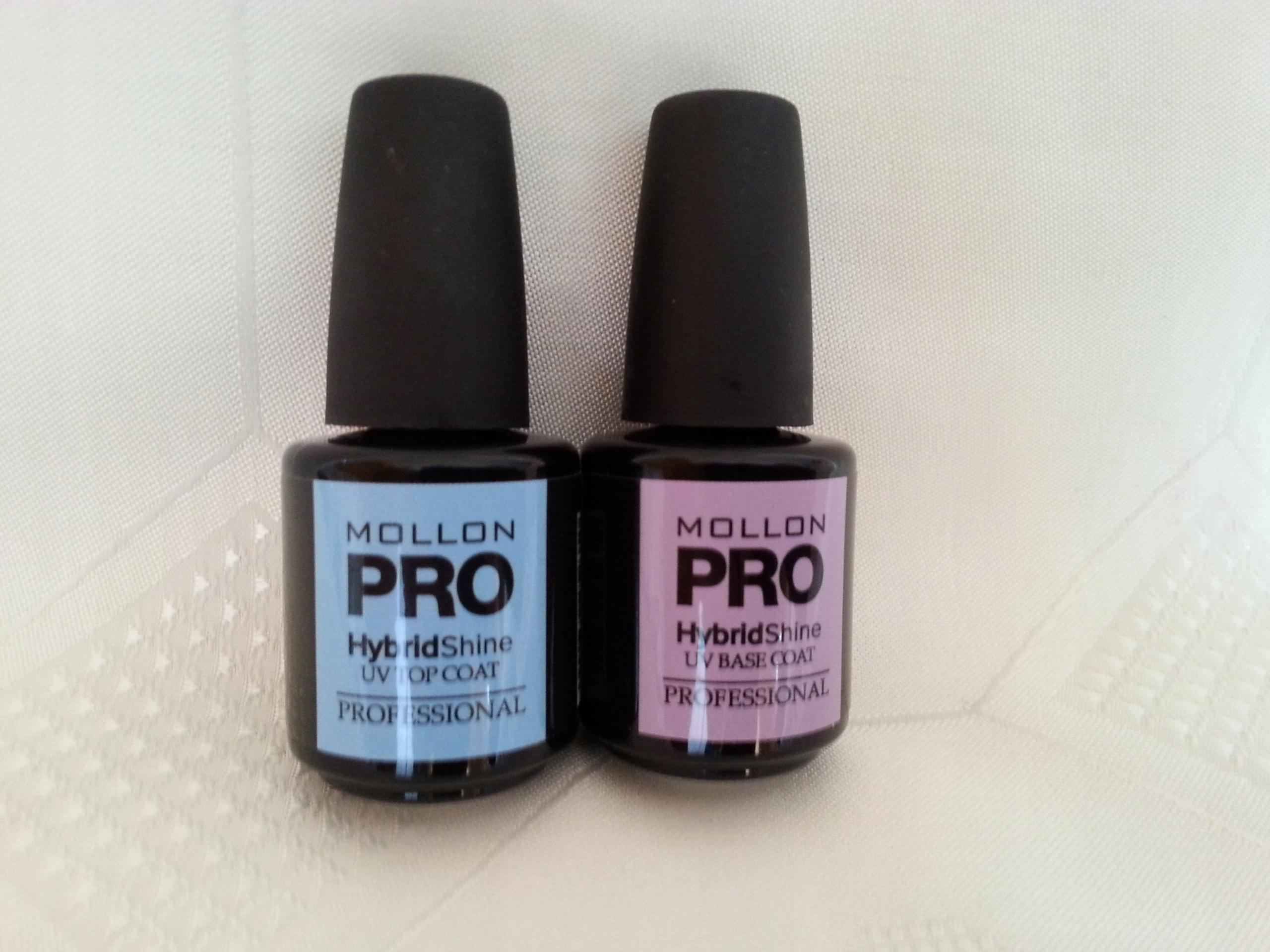Mollon Pro Baza + Top do Hybryd- Zestaw 15+15ml