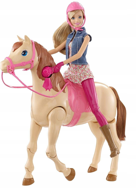 Lalka Barbie Dżokejka Konik CMP27 Mattel PatrzOPIS