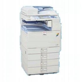 Ricoh MP C2051 ksero druk skan fax 23 500 kopii