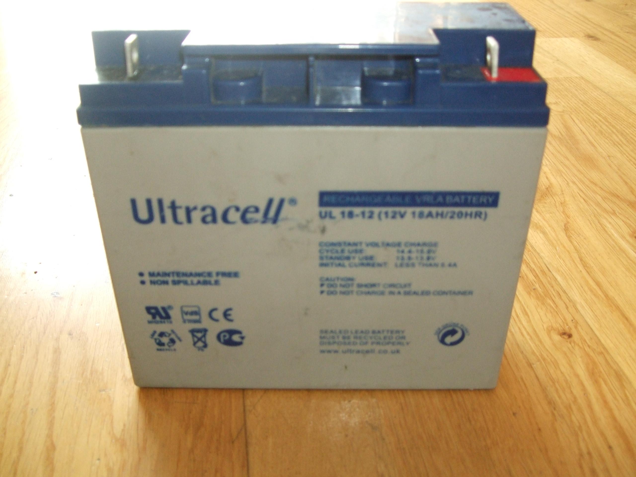 Akku Ultracell UL 18-12
