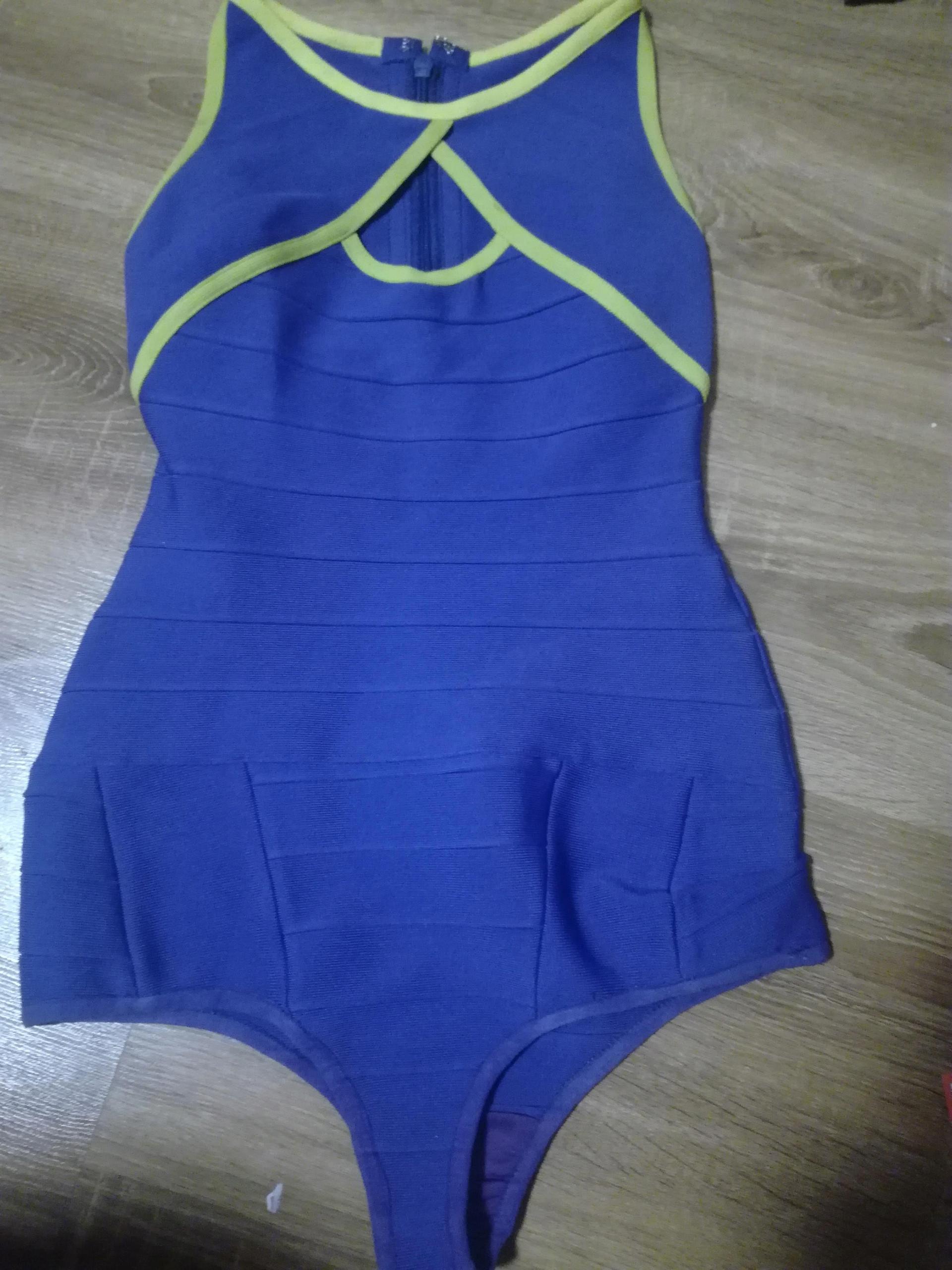 ASOS strój kąpielowy damski bandażowy M śliczny