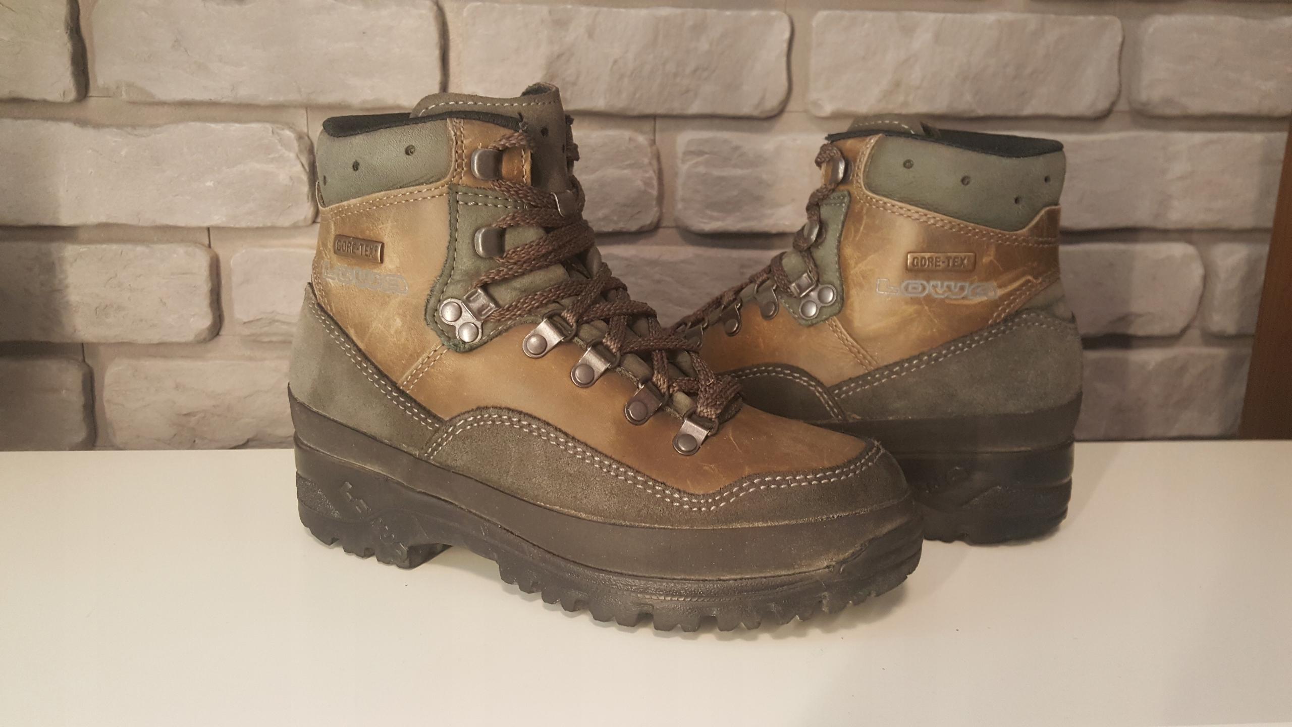 LOWA GORE TEX kultowe buty trekkingowe 37 germany