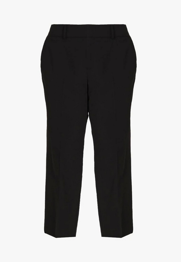 Czarne spodnie materiałowe rozm. 54 56 / Zalando