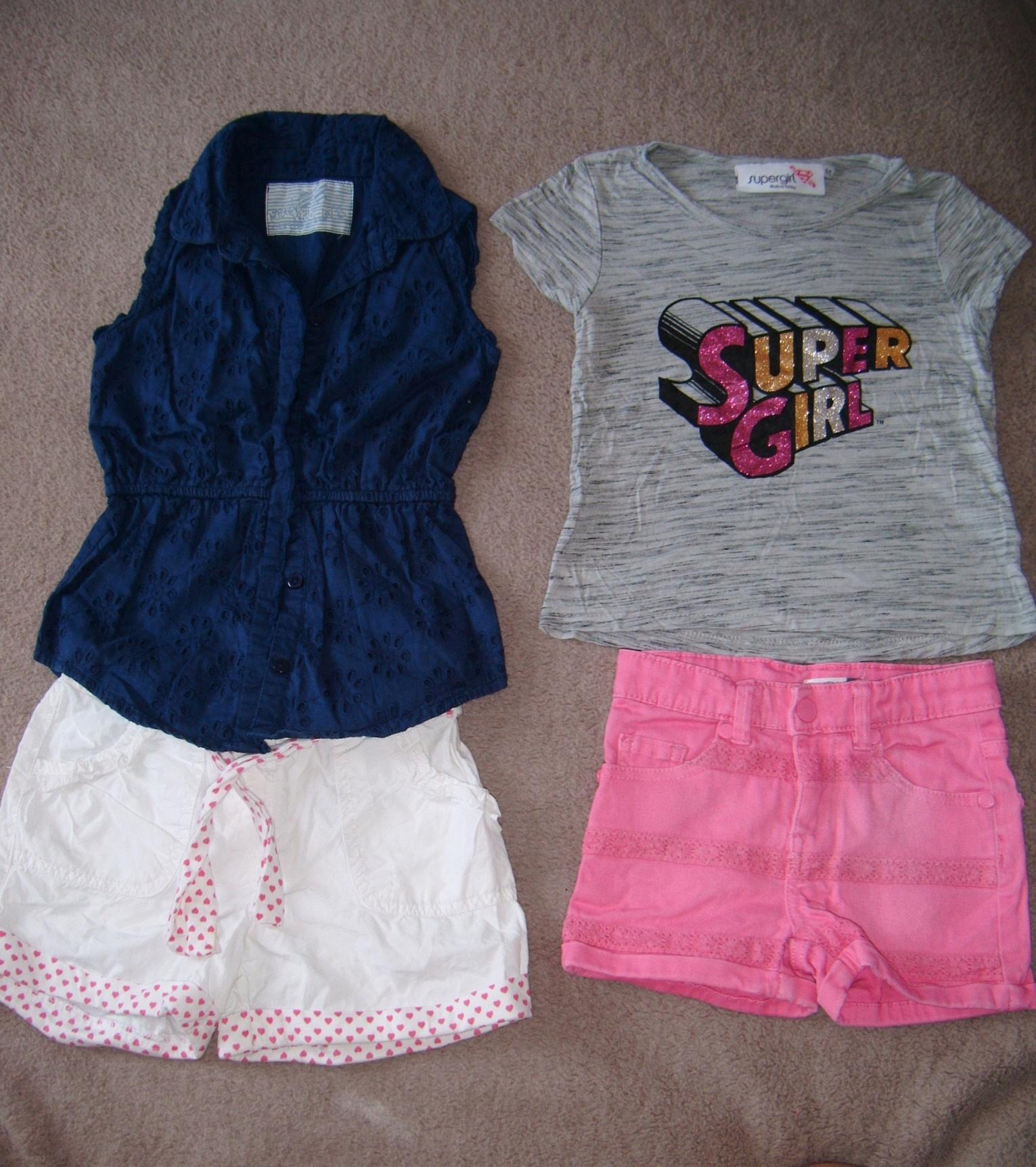Zestaw ubrań dla dziewczynki 4-5 lat 104-110