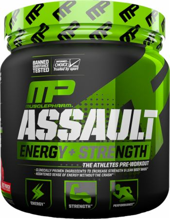 MUSCLE PHARM ASSAULT ENERGY+STRENGHT 345g OWOCOWY