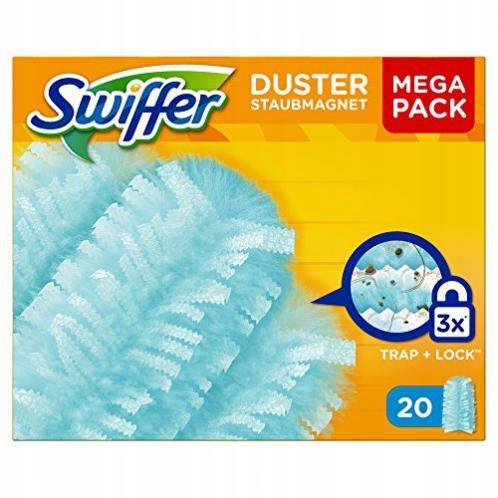 N8 Wkłady miotełki do kurzu zapachowe Swiffer 3x20