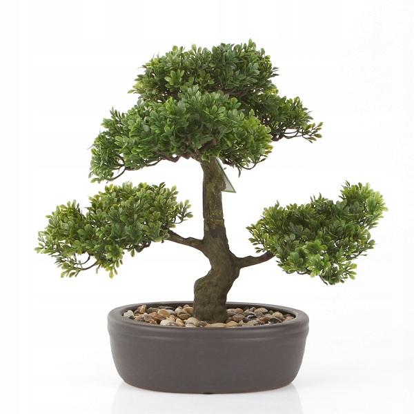 Sztuczne Drzewko Bonsai Ficus 32 Cm Fikusy Drzewka
