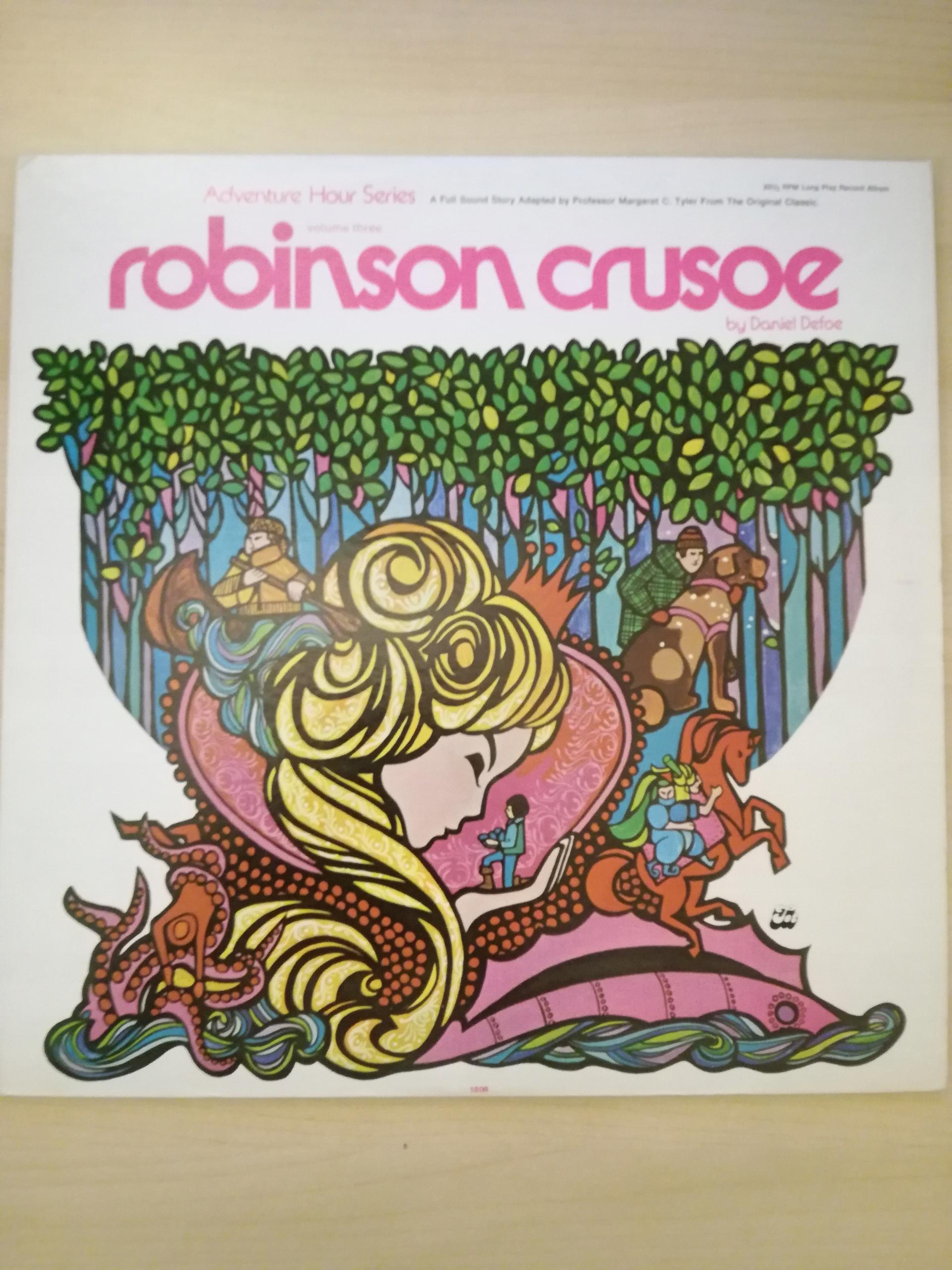 Robinson Crusoe po angielsku, LP winyl