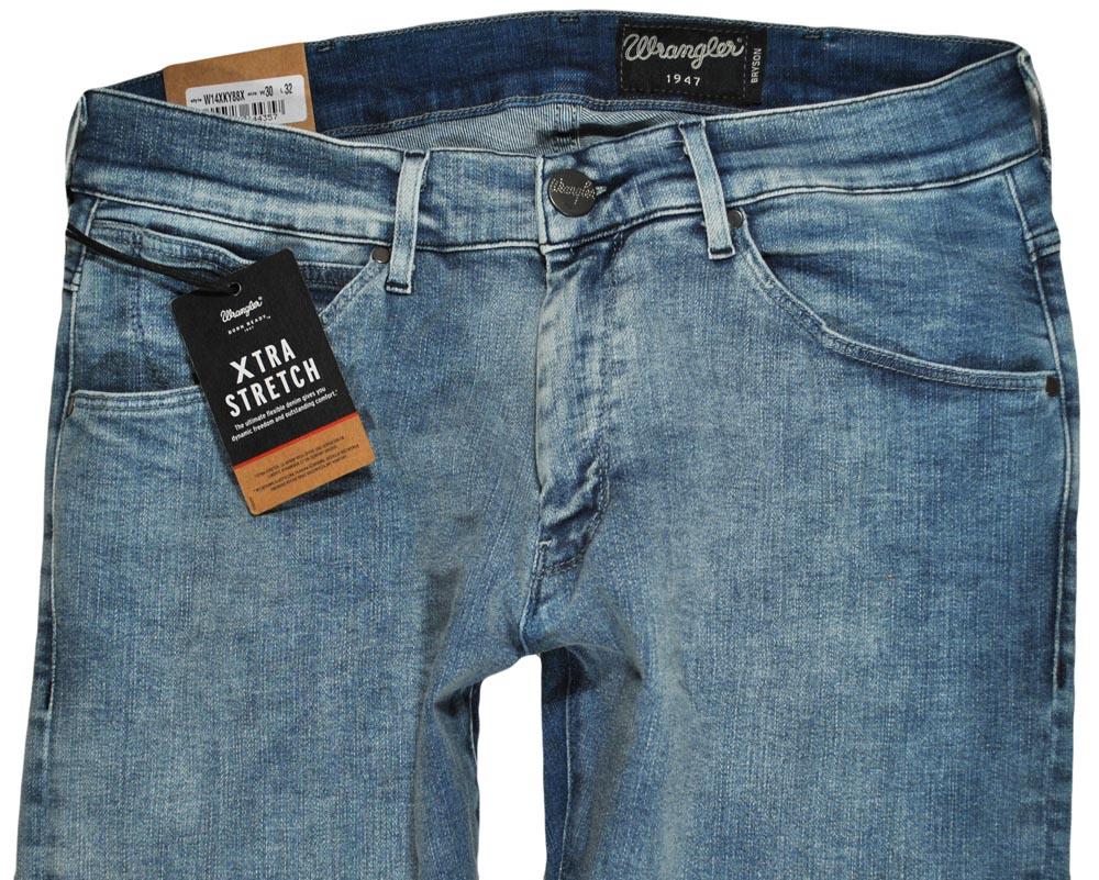 WRANGLER spodnie SKINNY jeans slim BRYSON W30 L32