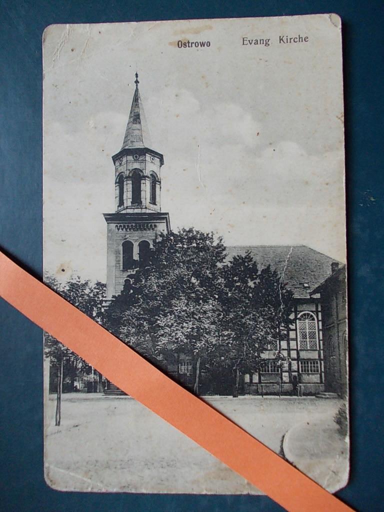 Ostrów Wielkopolski kościół ewangelicki