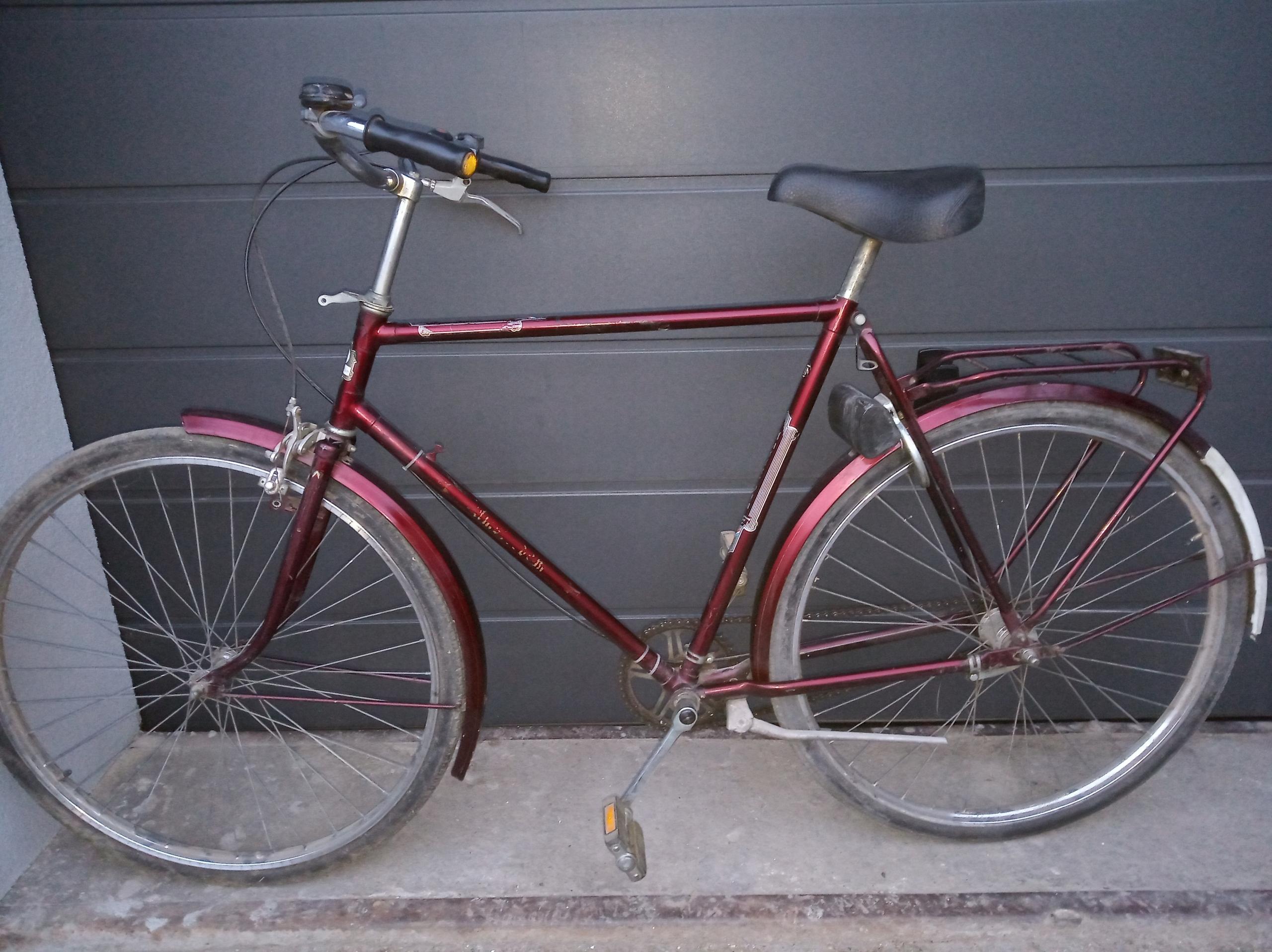 rower amsterdam 28 cali męski miejski sparta gazel