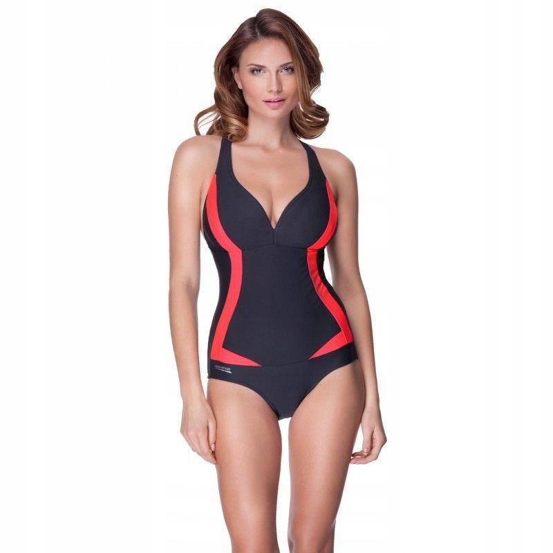 Kostium kąpielowy Aqua Speed Greta 55 03 - SZARY;