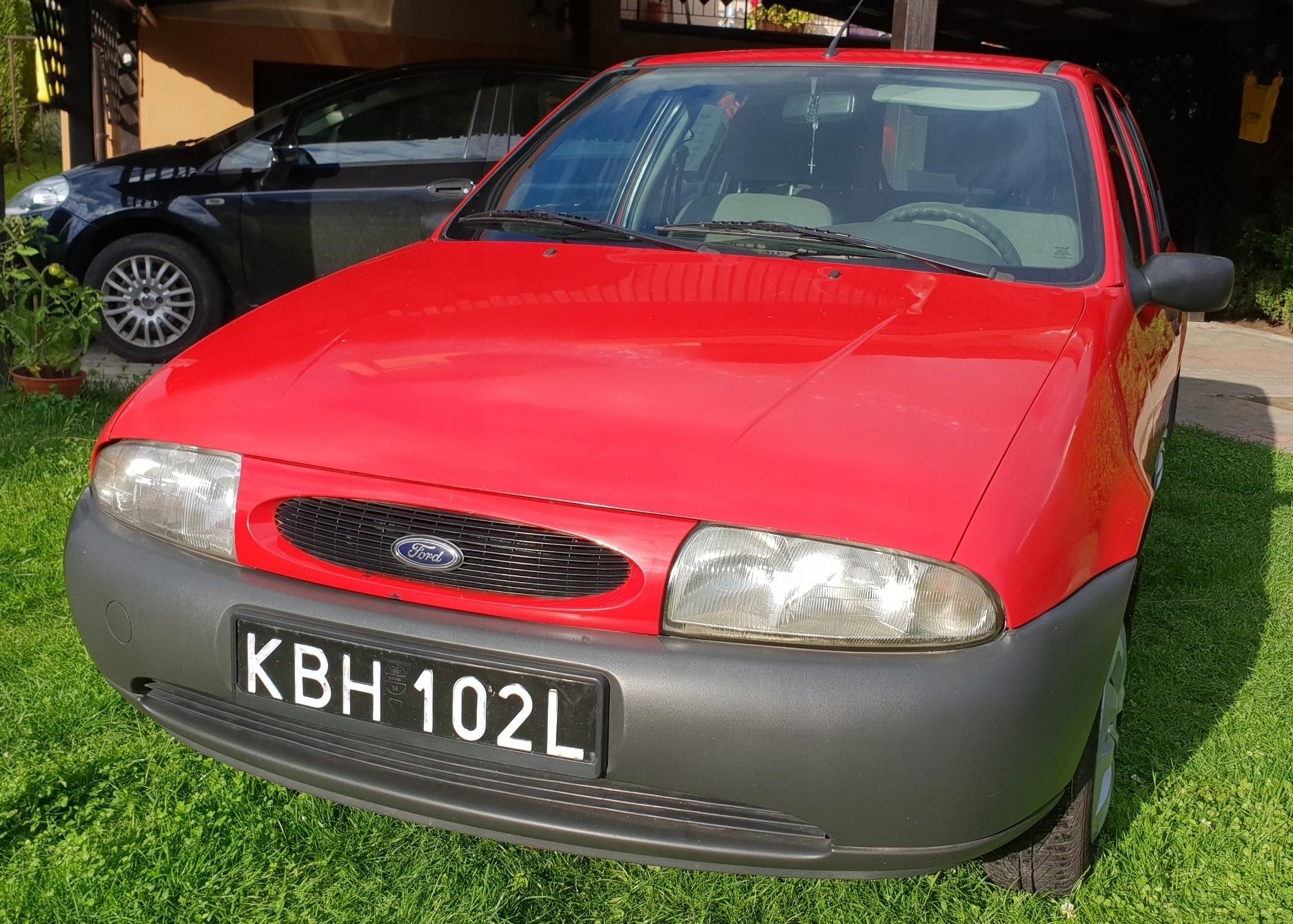 Ford Fiesta 1,3 benzyna, 1999r, bezwypadkowy, I wł